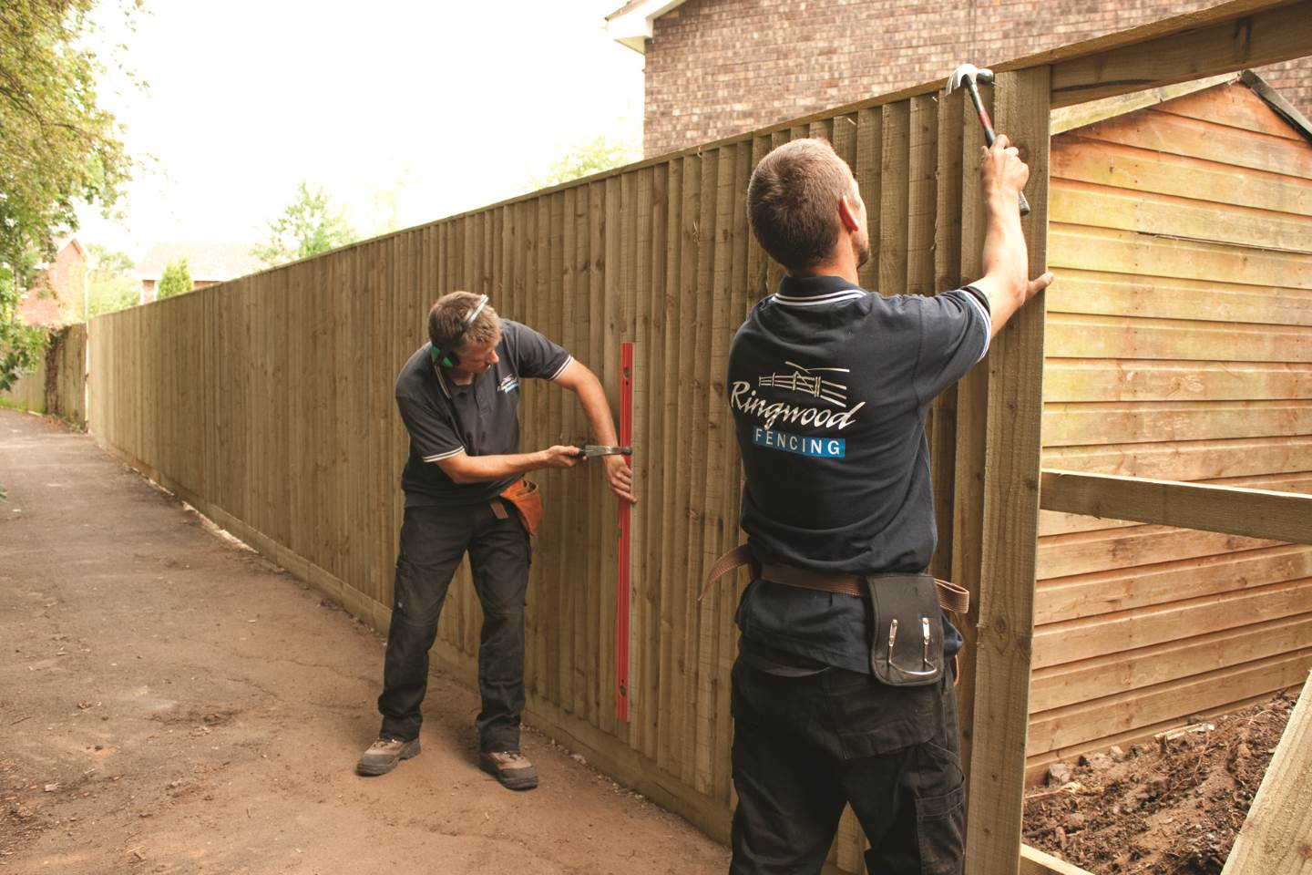 Ringwood Fencing Installation